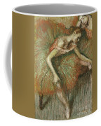 Dancers Coffee Mug by Edgar Degas