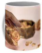 Dead Flower Petals With A Gift, Begonia Coffee Mug