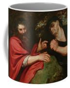 Democritus And Heraclitus Coffee Mug