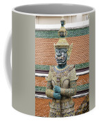 Detail From A Buddhist Temple In Bangkok Thailand Coffee Mug