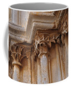 Detail Of The Medieval Portal Of Saint Marys Church In Tavira. Portugal Coffee Mug
