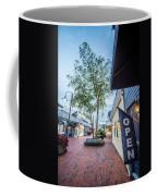 Downtown Of Newport Rhode Island At Dusk Hours Coffee Mug