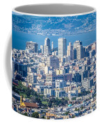 Downtown San Francisco City Street Scenes And Surroundings Coffee Mug