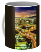 Early Morning Sunrise Over Valley Of Fire And Las Vegas Coffee Mug