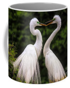 Egret Mates Coffee Mug