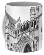Entrance To Royal Courts Of Justice London Coffee Mug