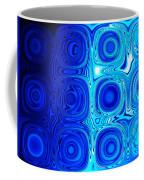2 Faces Of Blue Coffee Mug