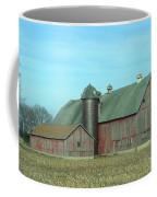 Fading Red Coffee Mug
