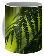 Fern Abstract Coffee Mug