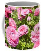 field of cultivated Buttercup  Coffee Mug