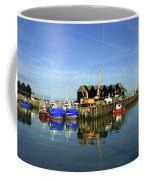 Fishing Boats At Whitstable Harbour 03 Coffee Mug