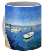 Fishing Boats In Nafplio Town Coffee Mug