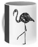 Flamingo-black Coffee Mug