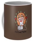 Flossing Tooth Coffee Mug