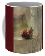 Flowers On A Window Ledge Coffee Mug