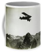 Flug Uber Dem Eiger Coffee Mug