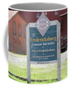 Fredericksburg Rail Station Coffee Mug