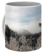 Frosty Pikes Peak Coffee Mug