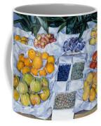 Fruit Displayed On A Stand Coffee Mug