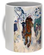 Galloping Horse Coffee Mug