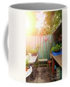 Garden Potting Table Coffee Mug