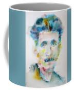 George Orwell - Watercolor Portrait Coffee Mug