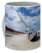 Ghost Ship Beached By Hurricane Irma Coffee Mug