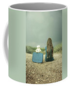 Girl In The Dunes Coffee Mug by Joana Kruse