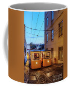 Gloria Funicular, Lisbon, Portugal Coffee Mug