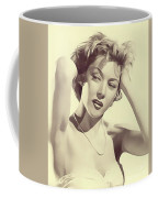 Gloria Grahame, Vintage Actress Coffee Mug
