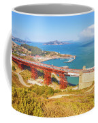 Golden Gate Bridge Vista Point Coffee Mug