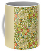 Golden Lily Coffee Mug