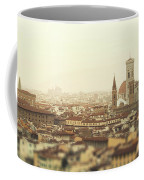 Golden Sunset Of Florence, Italy. Coffee Mug