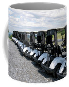 Golfing Golf Carts Coffee Mug