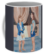 2 Gossip Girls Coffee Mug