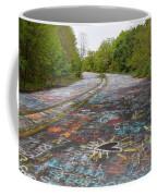 Graffiti Highway, Facing North Coffee Mug