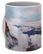Grand Canyon Above The Clouds Coffee Mug