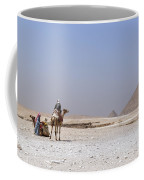 Great Pyramids Of Giza - Egypt Coffee Mug