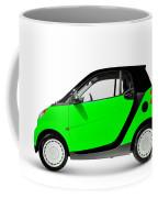 Green Mini Car Coffee Mug