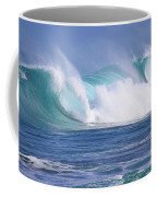 Hawaiian Winter Waves Coffee Mug