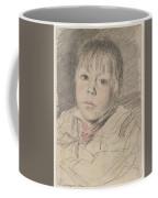 Head Of A Boy Coffee Mug