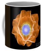 Hellebore Flower, X-ray Coffee Mug