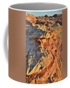 High Above Wash 3 In Valley Of Fire Coffee Mug