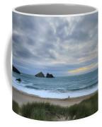 Holywell Bay Sunset Coffee Mug