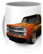 Hot Rod Chevrolet Scotsdale 1978 Coffee Mug