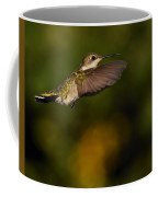 Hummingbird In Flight Coffee Mug