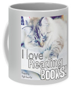 I Love Reading Books Coffee Mug