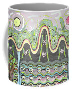 Ilwolobongdo Abstract Landscape Painting2 Coffee Mug