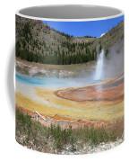 Imperial Geyser, Yellowstone Np Coffee Mug
