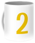 2 In Mustard Typewriter Style Coffee Mug